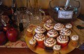 Cupcakes de mantequilla de Harry Potter