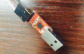 Mod un adaptador USB a TTL serie (CP2102) programa ESP8266