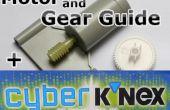 K'NEX Motor y engranaje Guía