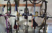 Estante de la bici / bici de almacenamiento para el hogar o apartamento