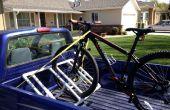 Soporte para bicicletas en PVC