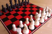 Juego de ajedrez de chocolate