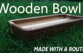 Cómo hacer un tazón de fuente de madera con un Router