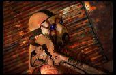 Borderlands bandido Psycho Buzz hacha escala 1:1 Cosplay Prop
