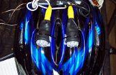 Baratos alta potencia casco luz