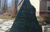 Árbol de Navidad con LEDs de plataforma