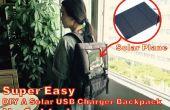 Super fácil A DIY Solar USB cargador mochila!