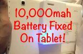 10.000 mah PowerBank batería fijo en Tablet Android!