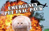 Evacuación de emergencia para mascotas Pack
