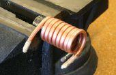 Cómo doblar tuberías de cobre y tubo sin machacar,