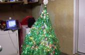 Reciclado de árboles de Navidad