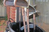 Eliminación de herrumbre de palos de Golf