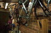 Bicicletas pared (ahorro de espacio)