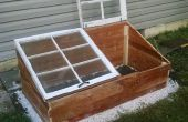 Acondicionar su jardín con un marco frío