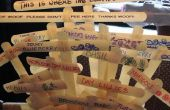 Cómo hacer marcadores de la planta de reciclado de materiales
