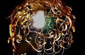 Lámpara colgante de PVC Swirly