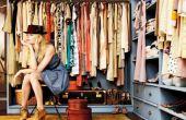 Cómo limpiar hacia fuera su armario