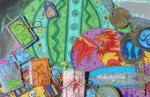 BOLSO de cuentas de HERMIONE: un arte de libro tranquila de papel
