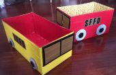 Conducto de cinta y pañal caja bomberos