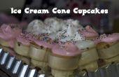 Hacer magdalenas de cono de helado