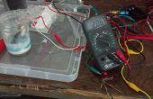 Crear una batería de iones de aluminio/titanio recargable de 2 voltios