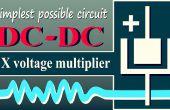 Doblador de voltaje de DC-DC (circuito más simple posible)