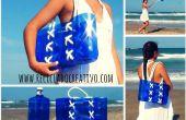 Cómo hacer un bolso de botellas de plástico recicladas