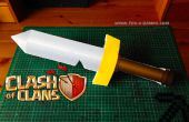 Básicos para imprimir choque de clanes bárbaros espada