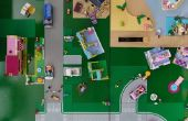 Alfombra de ciudad LEGO (Heartlake)