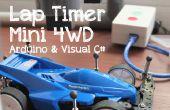 Lap Timer mini 4WD (Sensor IR)