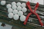 Cómo hacer una máquina de bolas de nieve!