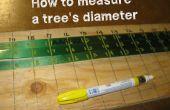 Fabricación de cintas especiales para medir diámetros de árboles!