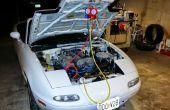Aventuras en el aire acondicionado del Auto.   O adaptar un Miata NA y recargarla.