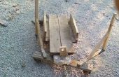 Vehículo de madera alpino