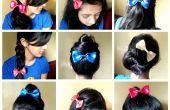 Muchas formas de usar el arco del pelo