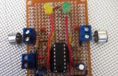 Sonido Sensor utilizando un LM324