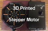 3D impreso Motor paso a paso