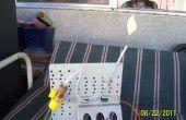 Generador de gas inflamable (experimento # 1)