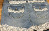 Pantalones cortos de Jean DIY