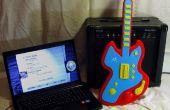 Controlador de USB de héroe de la guitarra con Arduino y Java