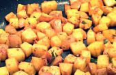 Curry de patata seca India