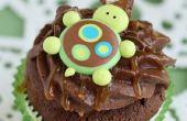 Cómo hacer Cupcakes de tortuga