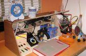 Estación de trabajo electrónica portátil / Taller