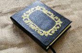DIY personalizar libro diario