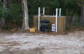 Gama de rifle de aire de patio