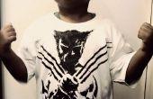 Pintura de Wolverine en una camisa de