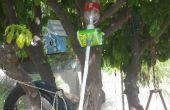 El lanzador de cohetes agua aire!!!!!!