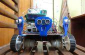 Añadir 6 sensores de distancia por ultrasonidos existente frambuesa Pi Robot