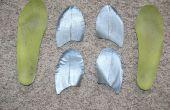 Talón la zapatilla gota insertos en sus partes movibles de calzado existentes