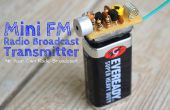 El transmisor de FM final (largo alcance Spybug)